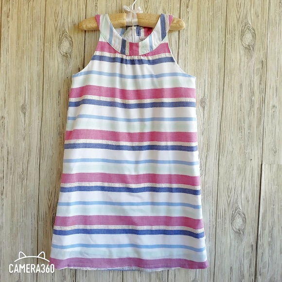 NWT Girls Gymboree Desert Dreams blue striped dress ~ 6 12 18 24 months 2T 4T